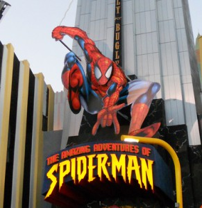 Spider-Man Ride at Universal Orlando