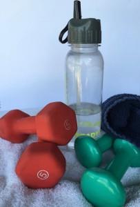 My workout paraphernalia