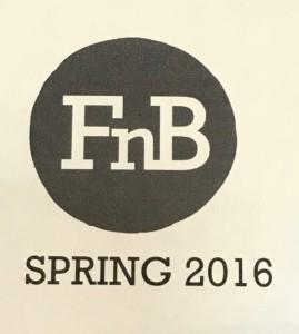 FnB Spring Menu