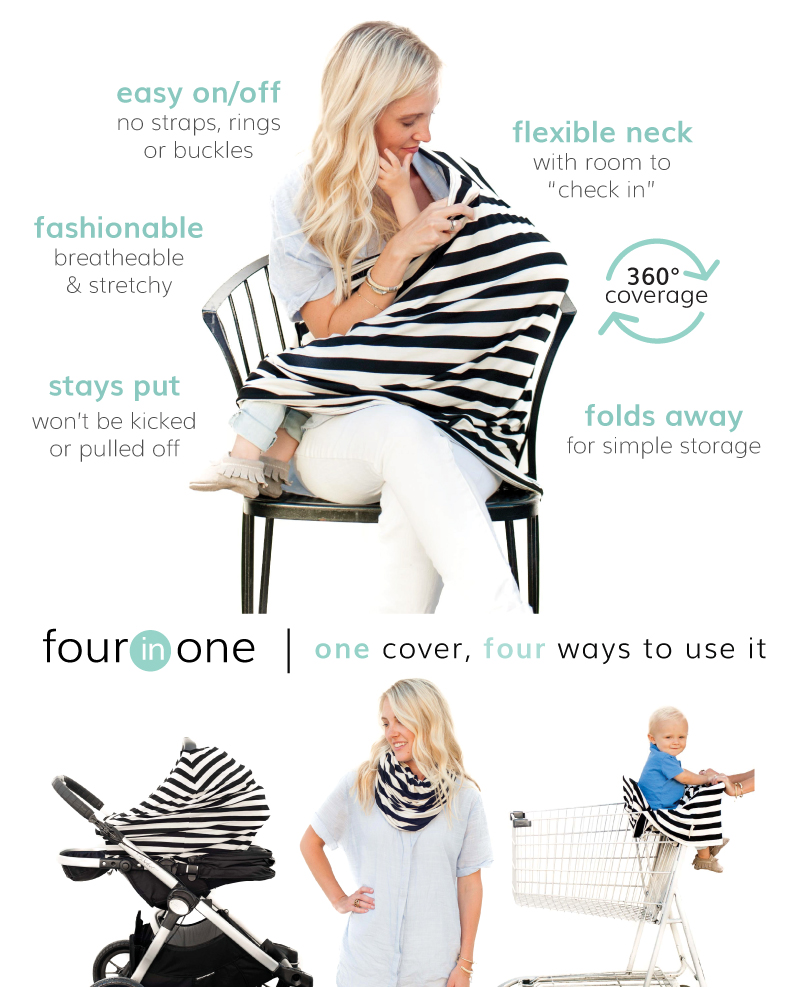Versatile nursing cover